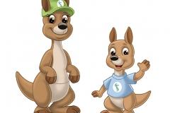 Kangaroo-Mascot